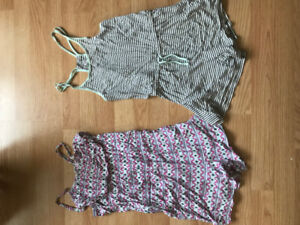 Lot of 2 Rompers  - Large
