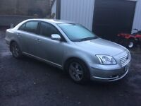 2006 Toyota Avensis 2.2 d4d breaking for parts.