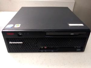 IBM/Lenovo M55 SFF Desktop Computer Intel Core2 Duo Win10PRO