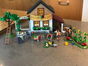 Playmobile Maison des fermiers et marché