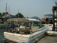 1976 sea ray excellent condition moorage available