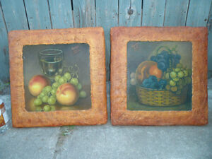 Original Paintings $50 each or both for $80. artist m. hall. Prince George British Columbia image 1