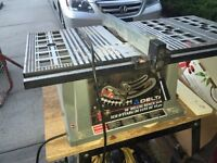 "10"" table saw Delta"