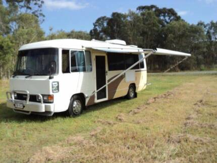 Toyota Coaster Bus Camper Price reduced Kawungan Fraser Coast Preview