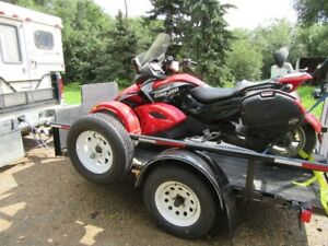 selling my spyder with trailer