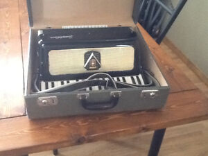 Frontalini Vintage Accordian with hard case