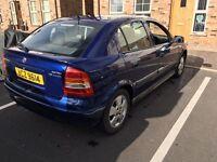 Vauxhall Astra 2004 1.6 Elegance 75k genuine miles