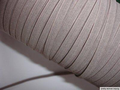 10m Gummiband 0,20€/m cappucchino  Webgummi aus Lycra M80