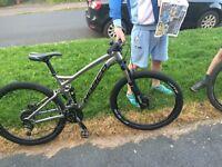 "Norco fluid 7 Mountain Bike 27.5"" wheels Medium frame"