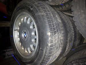 BMW RIMS & MICHELIN TIRES LIKE NEW!! 235/60/16 Kitchener / Waterloo Kitchener Area image 1