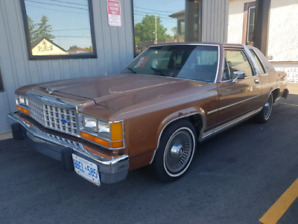 1983 Ford Crown Victoria LTD coupe certified
