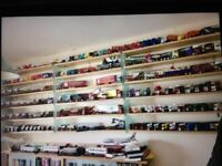 Large Collection of 200 mostly corgi diecast model trucks and other models