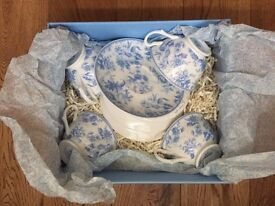 Set of 4 new beautiful Whittards cups & saucers Chintz design