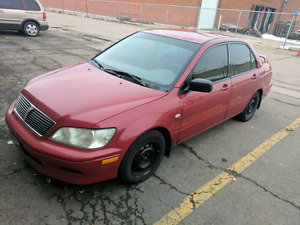 2004 Mitsubishi lancer 250k km for 1100$ with etest