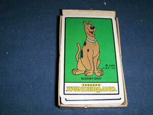 FULL DECK PLAYING CARDS-1982-SCOOBY DOO-CANADA'S WONDERLAND