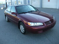 1999 Toyota Camry Auto 4 Cyl One Owner Excellent Condition Sedan