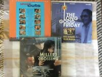 LASER DISC MOVIES - LONG GOOD FRIDAY, SHORT CUTS, MILLER'S CROSSING