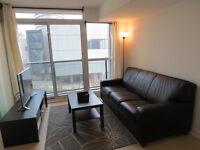 ****Fully Furnished 1 + Guest Den Bedroom by the Lake****