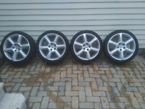 Nissan 18'' Rims and Rubber $300
