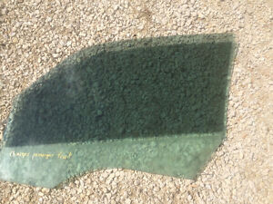 Dodge Charger Passenger Front Glass  - 2009