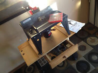 Router Table / Stand w/ Craftsman 800 router & Bits SEE VIDEO
