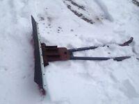 ATV angling plow