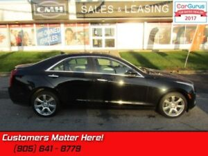 2014 Cadillac ATS 2.0 Turbo Luxury  AWD, NAV, CUE, ROOF, CAMERA