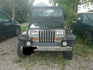 Jeeps for Sale (Two for $3,000) 1988 and 1989