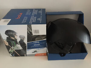TWO BOLLE MINT CONDITION, LIKE NEW SKI/SNOWBOARD WINTER HELMETS