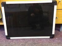 Black Dry Erase board