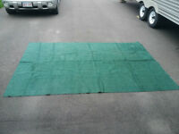 6 X 9 green indoor/outdoor carpet