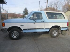 Collector's Car (1987 Full-Size Ford Bronco) For Sale!