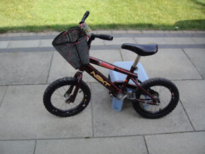 Bike for boy or girl with front basket