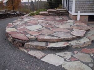 Flagstone for your pool-deck or patio