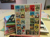 Collection des livres de TINTIN de Hergé