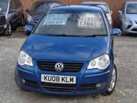 2008 VOLKSWAGEN POLO Match 80bhp 1.4