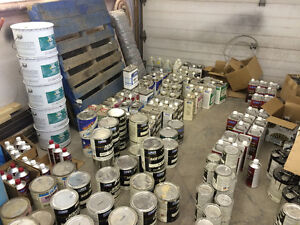Sherwin Williams/PPG Automotive paint inventory