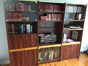 Bibliothèque 3 sections