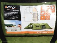 Vango athena 600 -6 man tent,only used once.great buy.
