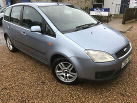 2005 '05' Ford Focus C-MAX 1.6 Zetec. Petrol. Manual. Family MPV. Px Swap