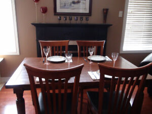 Kitchen Table Solid Wood