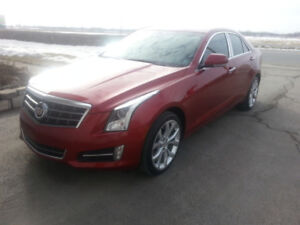 2014 cadillac ats turbo,awd,performance édition 27100 klm