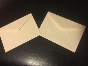 """500pcs invitation enveloupe 4-1/2"""" x 6-5/8"""" NEW"""