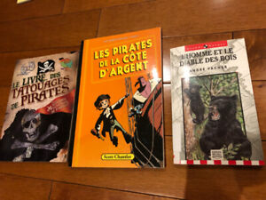 3 misc kids french books