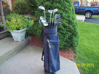 Men's Right Hand 13-pc Golf Clubs Set (Dynatour DT400) & Bag