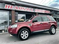 2009 59 LAND ROVER FREELANDER 2.2 TD4 E GS 5D 159 BHP 1 OWNER FROM NEW HPI CLEAR