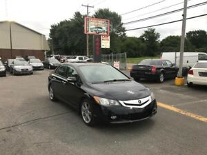 Acura CSX PREMIUM-CUIR-TOIT-JAMAIS ACCIDENTER-PADDLE SHIFT 2009