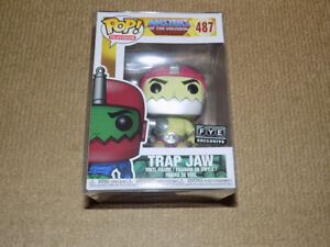 FUNKO POP TRAP JAW F.Y.E. EXCLUSIVE, MASTERS OF THE UNIVERSE, NM