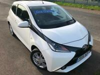 TOYOTA AYGO 1.0 VVT-i X-PRESSION 1 OWNER £30 WEEK BLUETOOTH FSH 3DR HATCH 2015