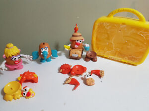 Mr. Potato Head set in carrying case